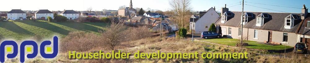 Householder development comment