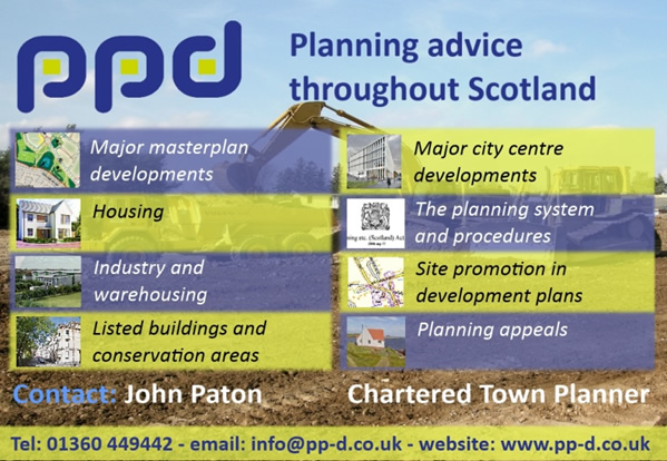 PPD Planning advice throughout Scotland