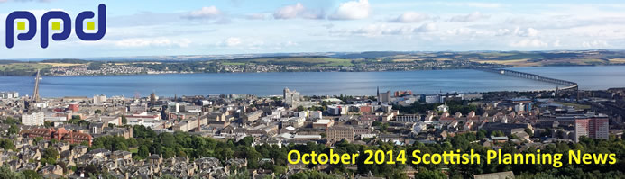 October 2014 Scottish Planning News