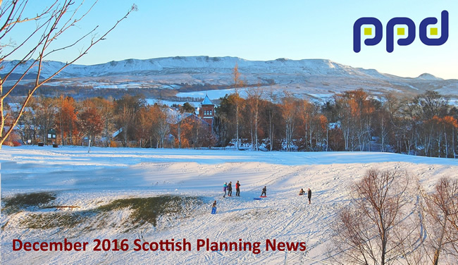 PPD December 2016 Scottish Planning News